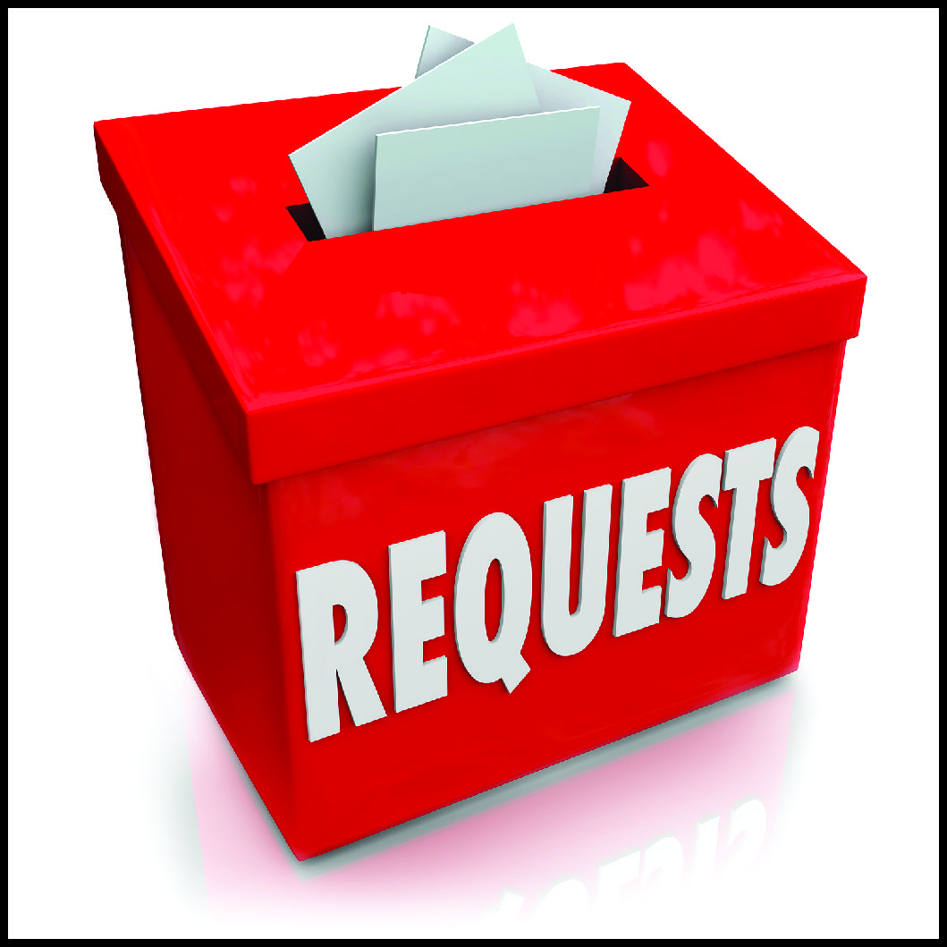 submit request box